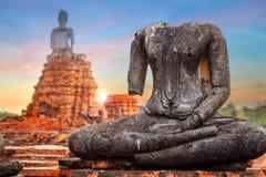 Templo de Wat Chaiwatthanaram en Ayuthaya, Tailandia Imagen de archivo libre de regalías