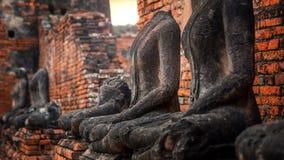 Templo de Wat Chaiwatthanaram en el parque histórico de Ayuthaya, un sitio del patrimonio mundial de la UNESCO Fotografía de archivo