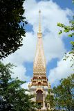 Templo de Wat Chalong Chaithararam Phuket Biggest foto de stock