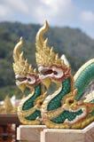 Templo de Wat Chalong da decoração Fotografia de Stock