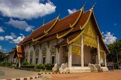 Templo de Wat Chedi Luang Foto de Stock
