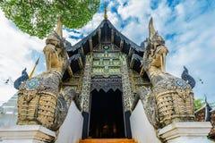 Templo de Wat Chedi Luang de Chiang Mai, Tailândia Fotos de Stock