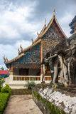Templo de Wat Chiang Man Imagenes de archivo