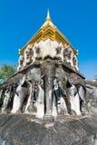Templo de Wat Chiang Man en Chiang Mai, Tailandia Imagen de archivo