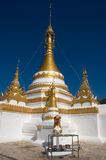 Templo de Wat Jong Klang, Mae Hong Son Fotos de archivo