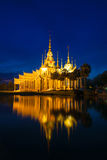 Templo de Wat Luang Phor Toh Sikhio no nakhonratsima Tailândia Imagens de Stock Royalty Free