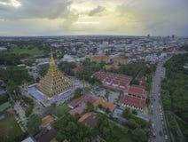 Templo de Wat Nong Wang, Khonkaen Tailandia Fotografía de archivo