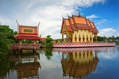 Templo de Wat Nuan Naram Foto de Stock