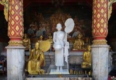 Templo de Wat Pha That Doi Suthep imagen de archivo