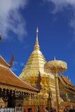 Templo de Wat Pha That Doi Suthep imagenes de archivo