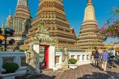 Templo de Wat Pho, Bangkok, Tailandia Fotos de archivo