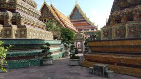 Templo de Wat Pho, Banguecoque, Tailândia Foto de Stock Royalty Free