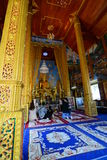 Templo de Wat Phra That Doi Kham Tambon Mae Hia, Amphoe Mueang Chiang Mai Province tailandia fotos de archivo libres de regalías