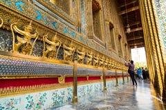 Templo de Wat Phra Kaew Fotos de Stock Royalty Free