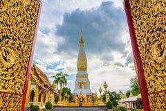 Templo de Wat Phra That Panom Fotografía de archivo