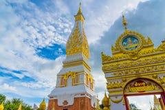 Templo de Wat Phra That Panom Imagenes de archivo