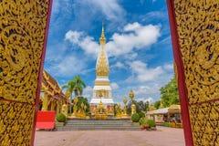 Templo de Wat Phra That Panom Imagen de archivo libre de regalías