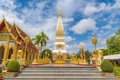 Templo de Wat Phra That Panom Imágenes de archivo libres de regalías