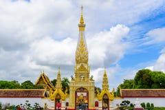 Templo de Wat Phra That Panom Foto de archivo libre de regalías