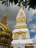 Templo de Wat Phra That Phanom Foto de Stock