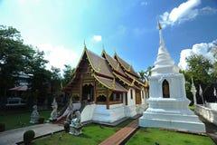 Templo de Wat Phra Singh Foto de archivo libre de regalías