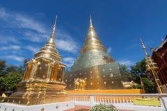 Templo de Wat Phra Singh Buddhist en Chiang Mai, Tailandia Foto de archivo libre de regalías