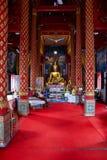 Templo de Wat Phra Singh em Chiang Mai imagem de stock royalty free