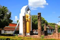 Templo de Wat Phra Sri Rattana Mahathat Fotografía de archivo libre de regalías