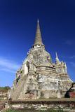 Templo de Wat Phra Sri Sanphet, Ayutthaya Imagem de Stock Royalty Free