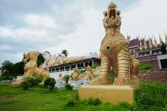 Templo de Wat Phra That Suton Song Kontiere foto de archivo