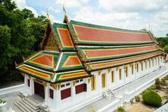 Templo de Wat Phrabuddhabat en Saraburi, Tailandia Imagen de archivo