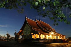 Templo de Wat Phu Praw Imagem de Stock