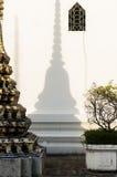 Templo de Wat Po en Bangkok Foto de archivo libre de regalías