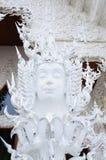 TEMPLO DE WAT RONG KHUN, CHIANGRAI Fotografia de Stock Royalty Free