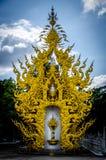 Templo de Wat Rong Khun White, Chiang Rai, Tailandia Imágenes de archivo libres de regalías