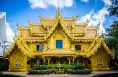Templo de Wat Rong Khun White, Chiang Rai, Tailandia Imagenes de archivo
