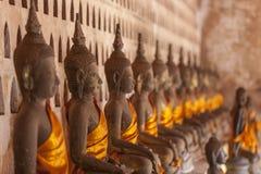 Templo de Wat Si Saket Imagem de Stock Royalty Free