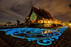 Templo de Wat Sirindhorn Wararam Imágenes de archivo libres de regalías