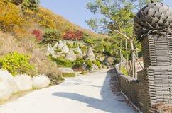 Templo de Waujeongsa, Coreia Imagens de Stock Royalty Free