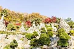 Templo de Waujeongsa, Coreia Imagem de Stock