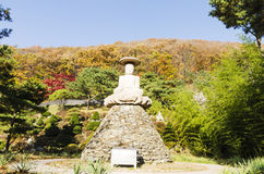 Templo de Waujeongsa, Coreia Fotos de Stock