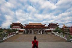 Templo de Wen Wu Foto de archivo libre de regalías