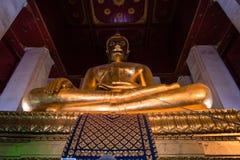 Templo de Wihan Phra Mongkhon Bophit imagen de archivo libre de regalías