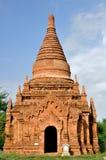 Templo de Winido em Bagan, Myanmar Fotografia de Stock Royalty Free
