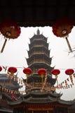 Templo de Wuxi Nanchan, China imágenes de archivo libres de regalías