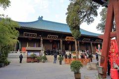 Templo de Xianduchenghuangmiao, adobe rgb Fotos de archivo libres de regalías