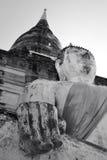 Templo de Yai Chai Mongkol imagem de stock royalty free