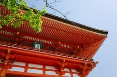Templo de Yasaka Jinja Imagen de archivo libre de regalías
