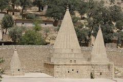 Templo de Yazidi em Lalish, Curdistão Imagens de Stock Royalty Free