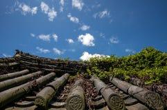 Templo de Yeosu Heungguk imagens de stock royalty free